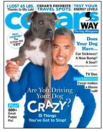 Cesar's Way magazine cover April 2010 issue